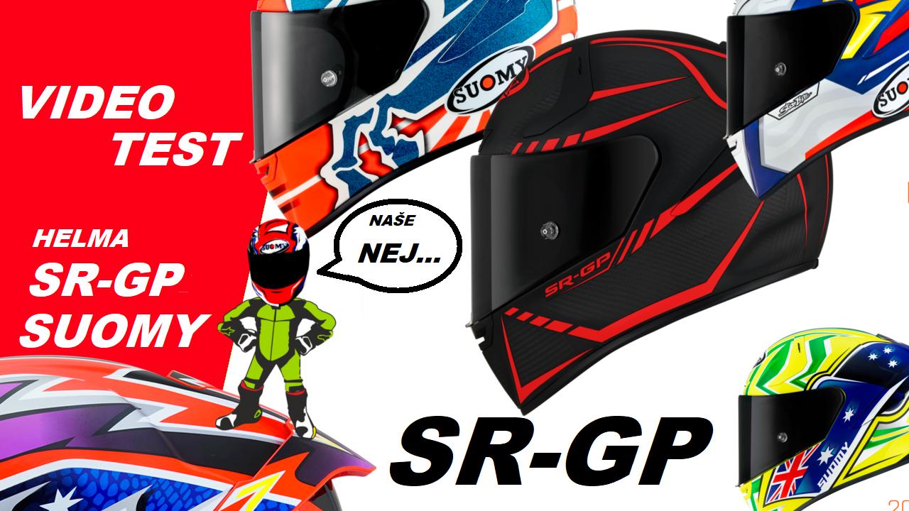 SR-GP , top integrální přilba, helma suomy