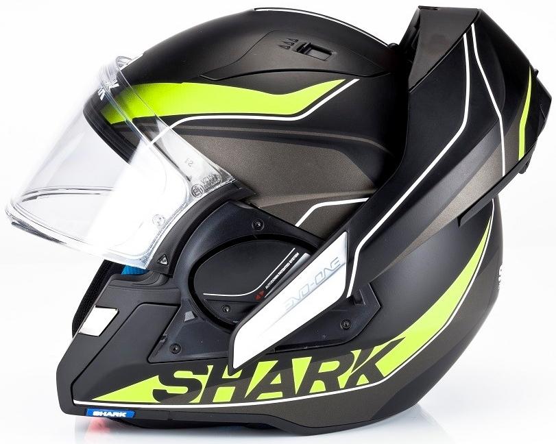 Překlopné helmy