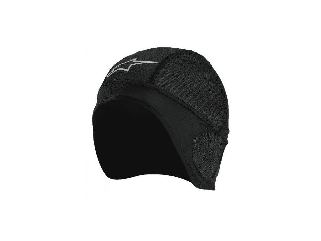 čepice pod přilbu ALPINESTARS SKULL CAP BEANIE černá