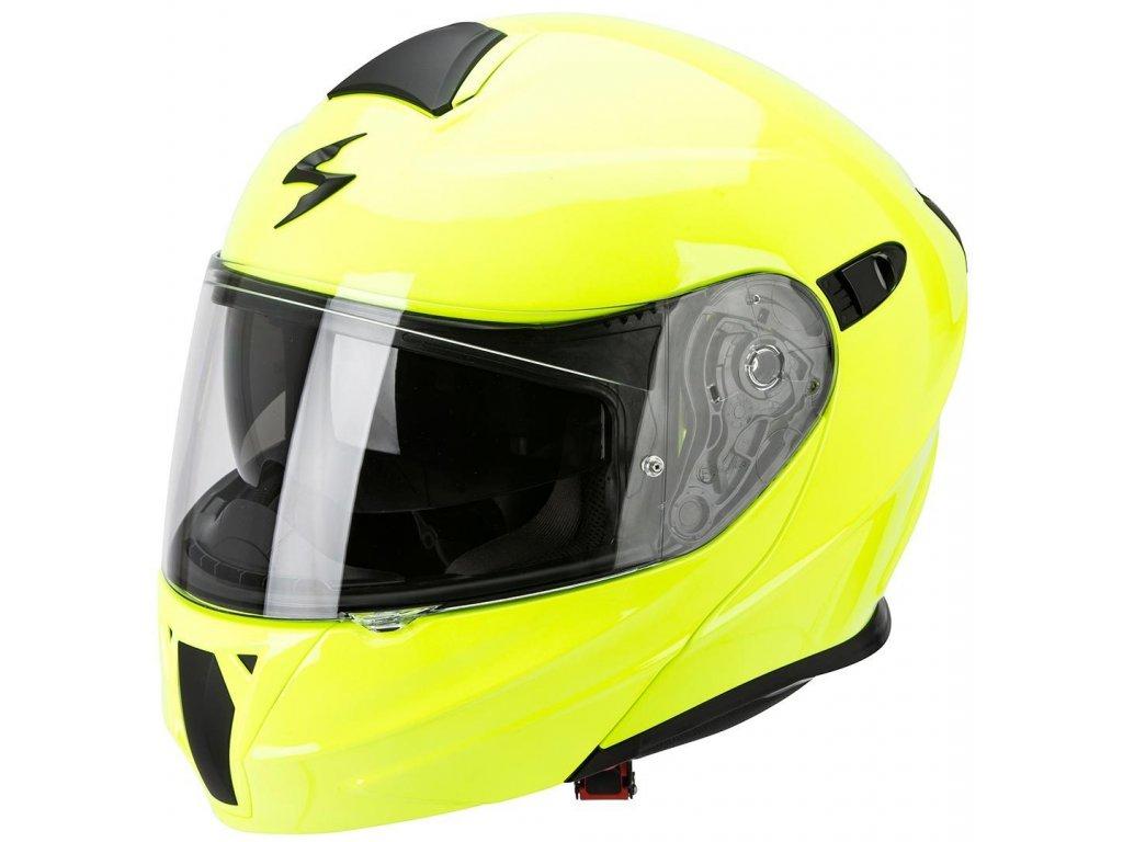 Scorpion EXO 920 Klapphelm EXO 920 SOLID neon yellow