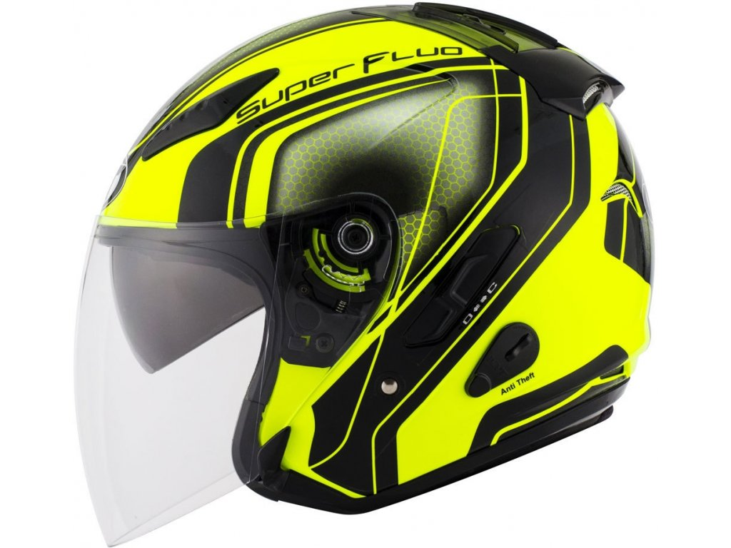 kyt hellcat superfluo yellow 06
