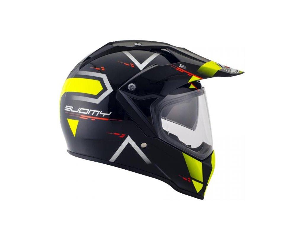 enduro helma SUOMY MX TOURER ROAD YELLOW