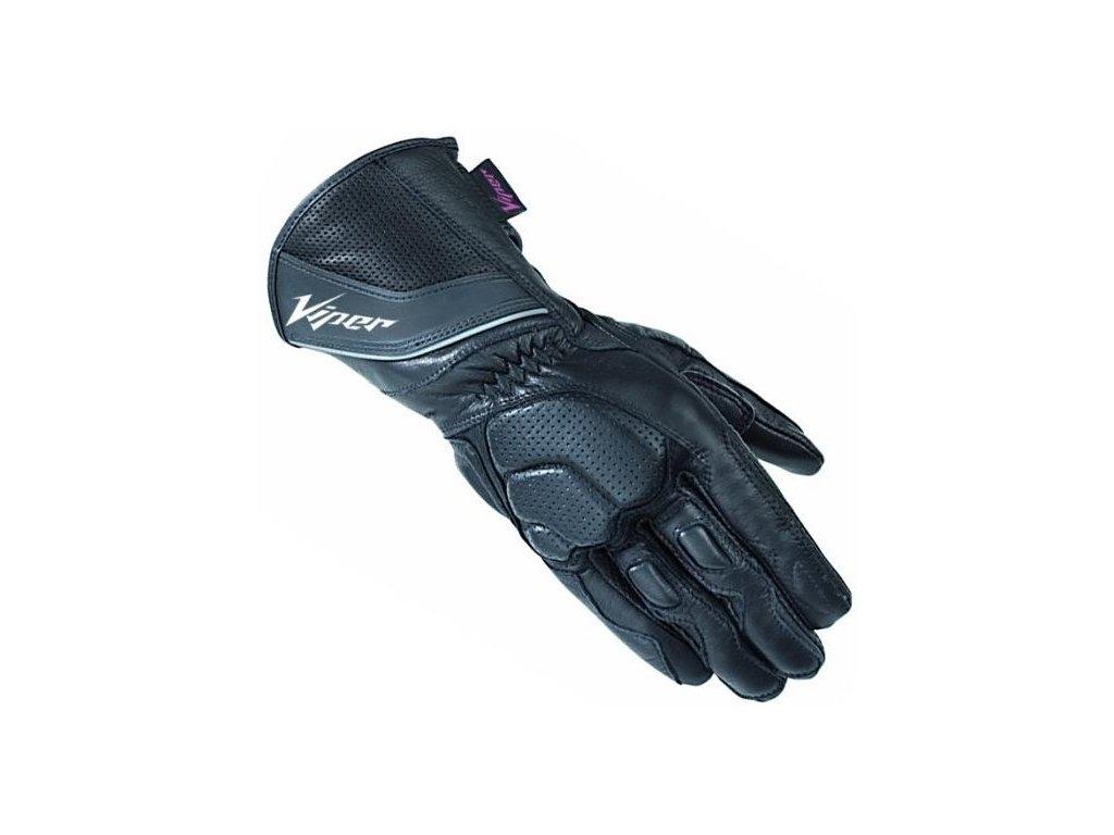 moto rukavice VIPER INFINITY BLACK