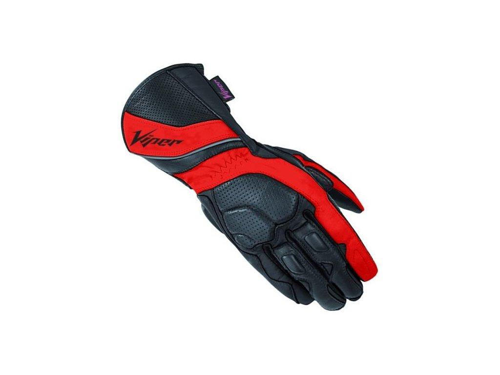 moto rukavice VIPER INFINITY RED