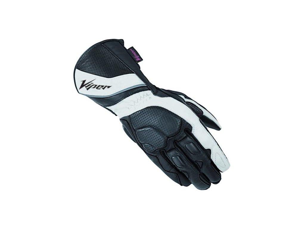 moto rukavice VIPER INFINITY WHITE