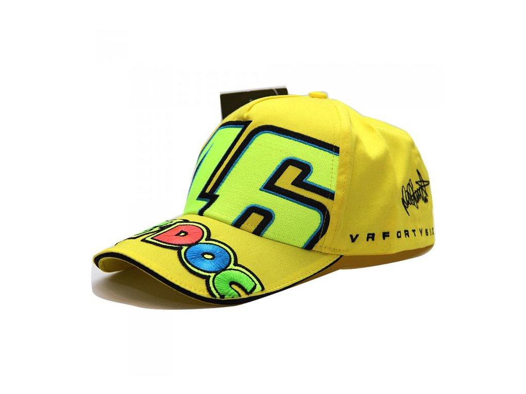 kšiltovka VR 46 THE DOC žlutá