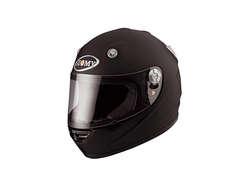 moto helma SUOMY VANDAL matt black