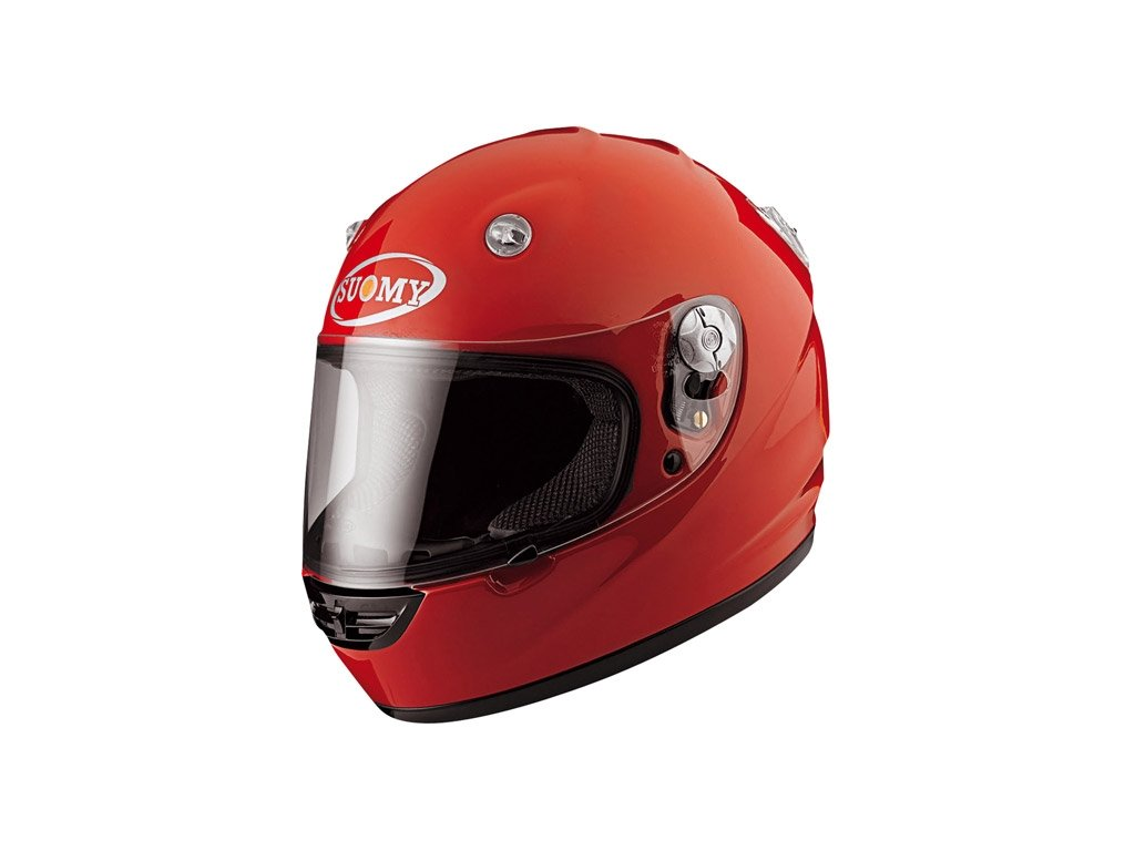 moto helma SUOMY VANDAL red
