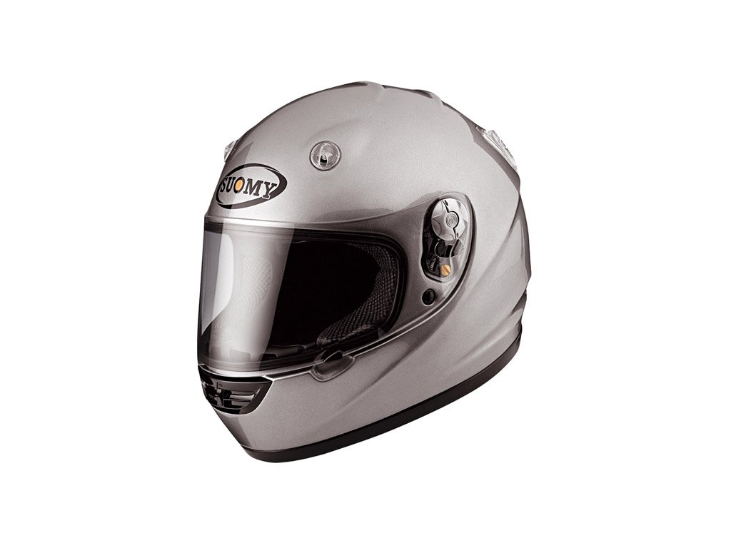 moto helma SUOMY VANDAL silver