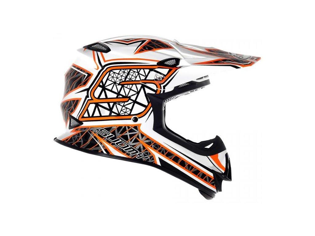 MX helma SUOMY MR JUMP S LINE orange