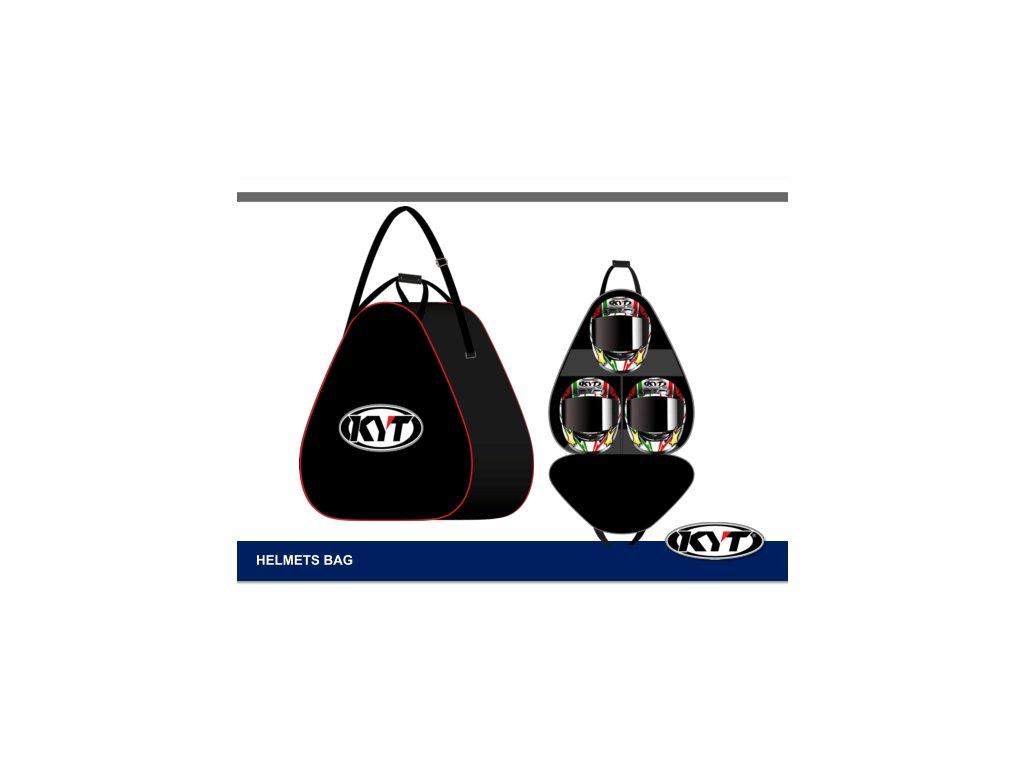 taška na helmy KYT HELMET BAG black 3