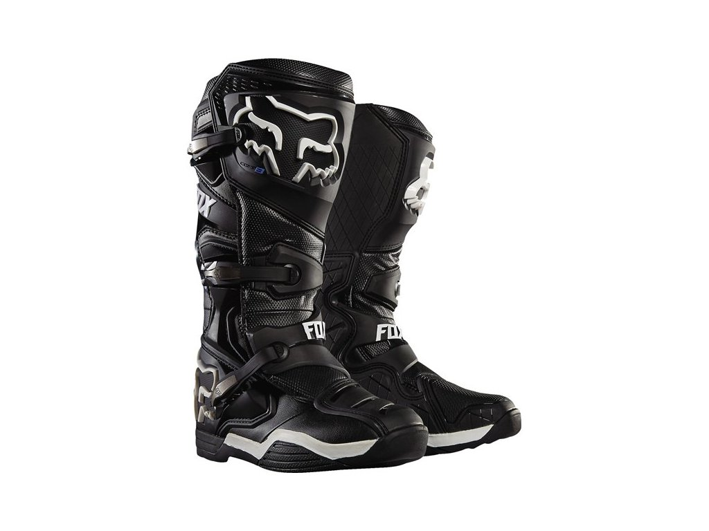 MX boty FOX MX RACING COMP 8 BOOTS BLACK