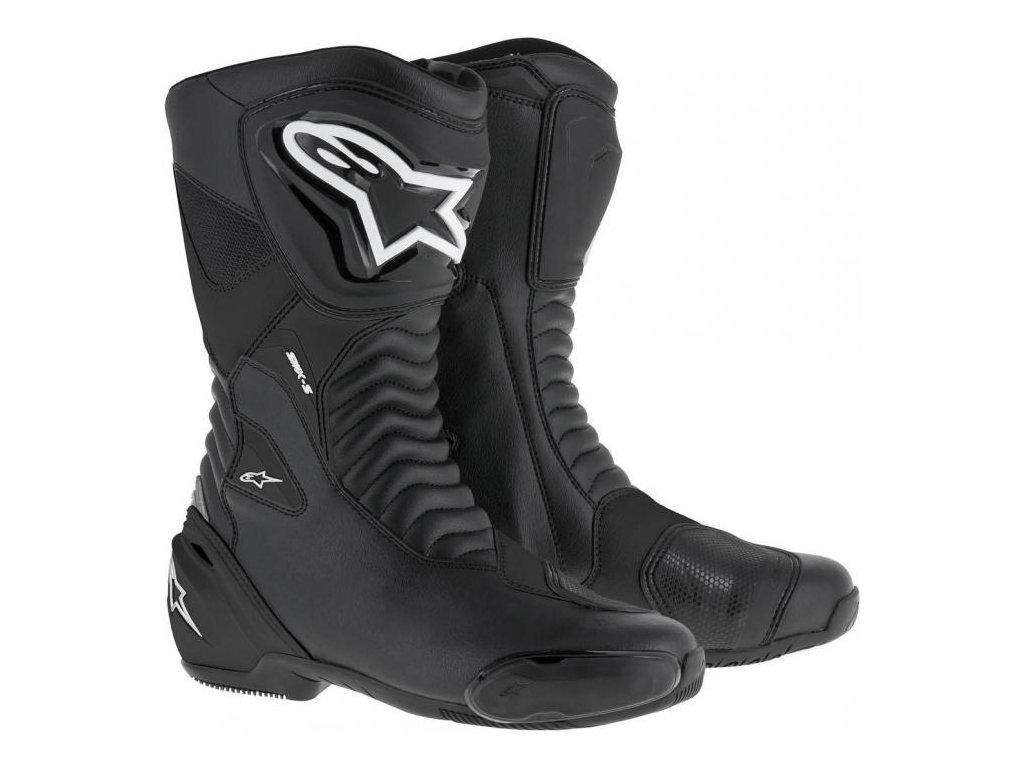 moto boty ALPINESTARS SMX-S černé