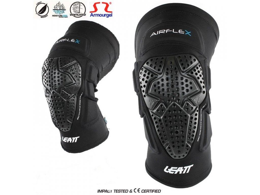chranice kolen leatt knee guard airflex pro