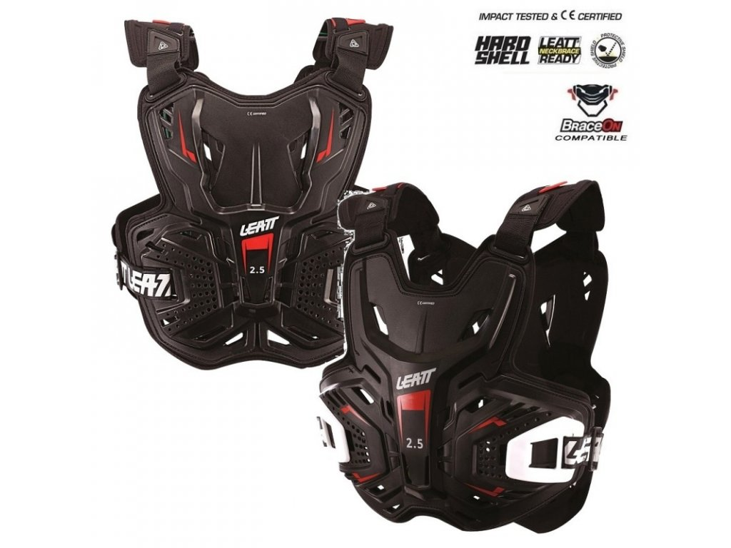 chranic hrudi a zad leatt 2 5 chest protector black