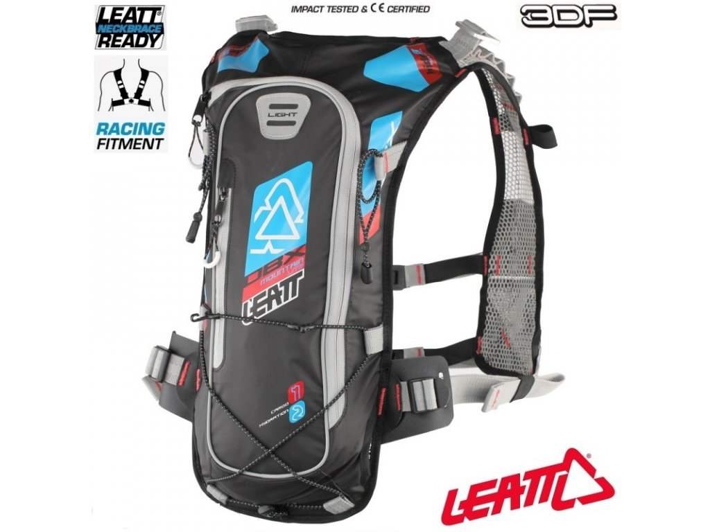pici batoh na kolo leatt dbx mountain lite 2 0 hydration pack blue red black