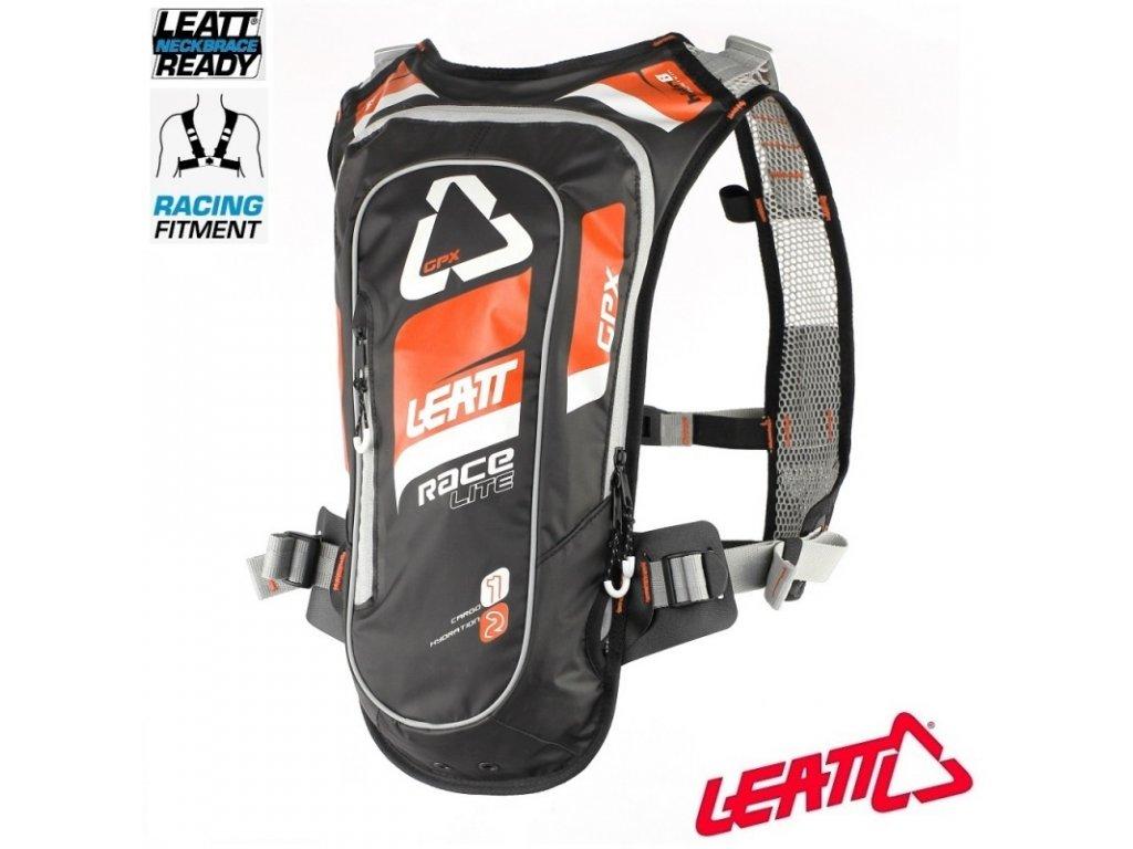 pici batoh leatt gpx race hf 2 0 hydration pack orange black
