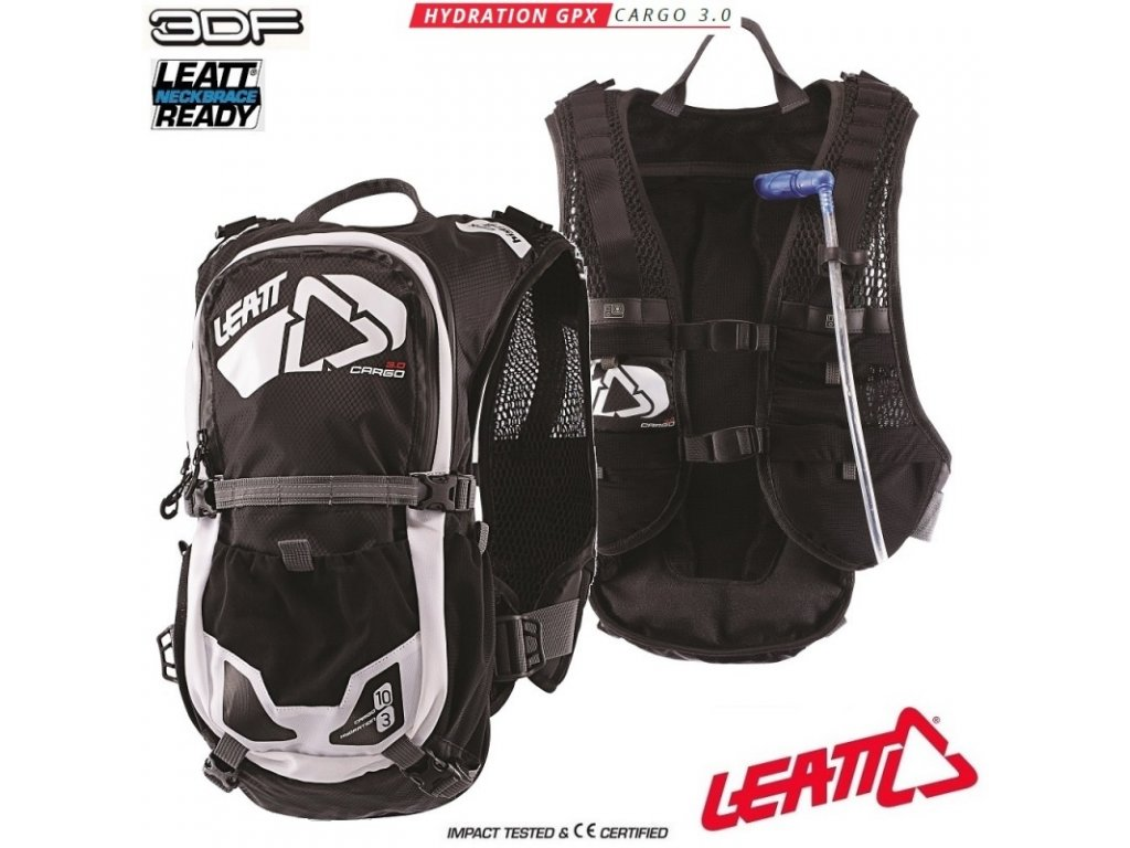 25839 pici batoh leatt gpx cargo 3 0 hydration pack black white