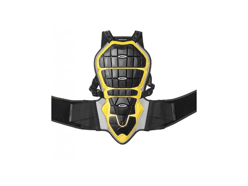 páteřový chránič SPIDI BACK WARRIOR LADY pro výšku 160/170cm černý/žlutý