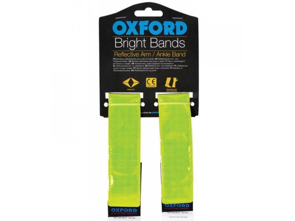 reflexni pasky bright bands na suchy zip oxford anglie zluta fluo par