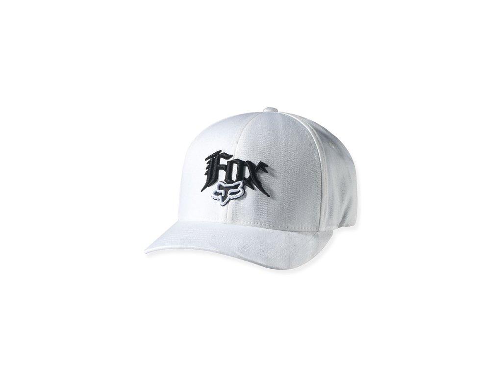 kšiltovka FOX WHITE CAP