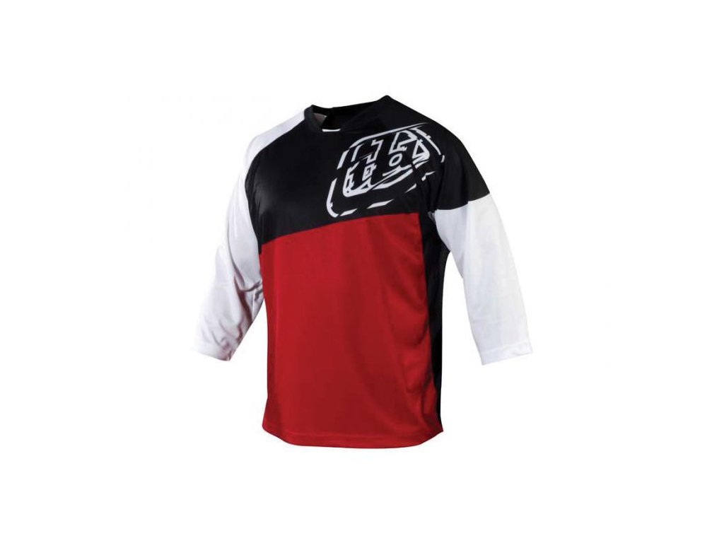 MX dres TROY LEE DESIGNS DRES RUCKUS RED