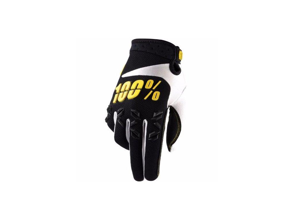 100 airmatic black yellow glove small 16419 p