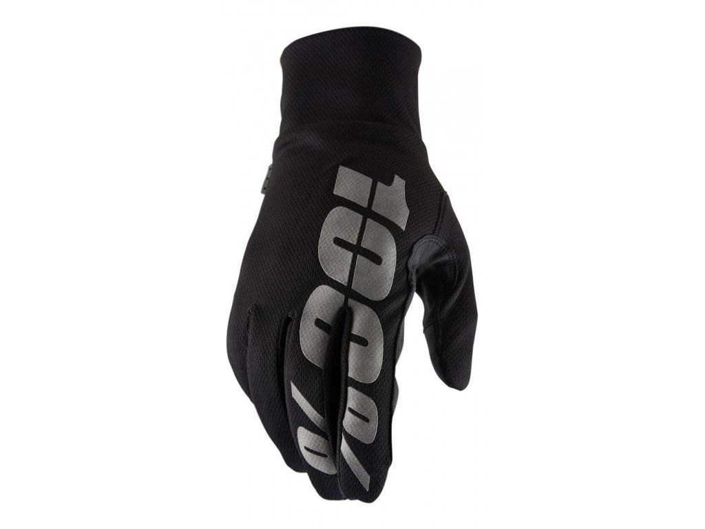rukavice 100% HYDROMATIC černá