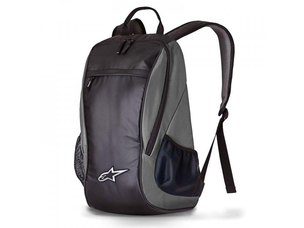 lite backpack black charcoal