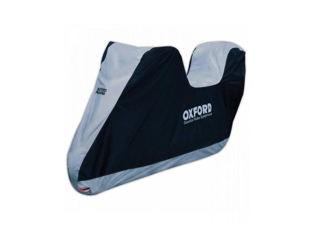plachta na moto OXFORD AQUATEX s prostorem na kufr M