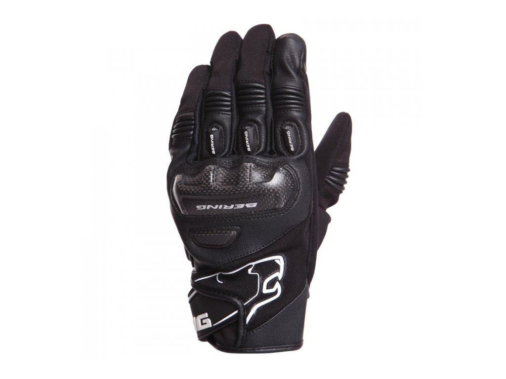 moto rukavice BERING DERRECK BLACK