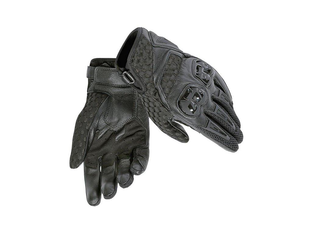 dainese gloves air hero black black