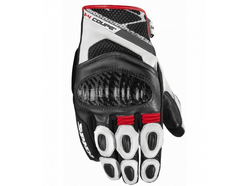 rukavice x4 coupe spidi italie cerna cervena