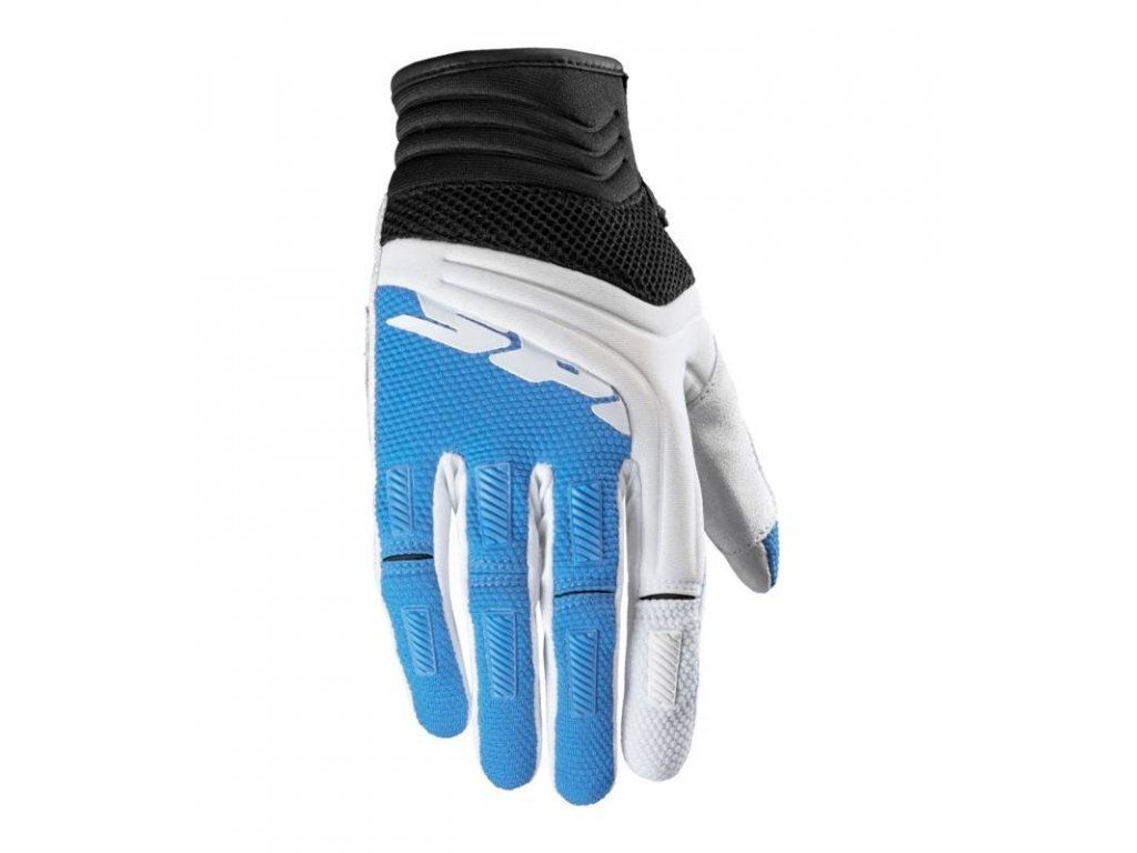 rukavice mega x spidi italie damske bila modra