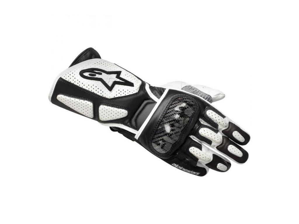 moto rukavice ALPINESTARS SP-2 WHITE