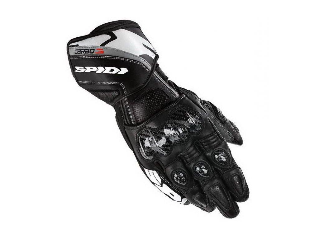 moto rukavice SPIDI CARBO 3 BLACK