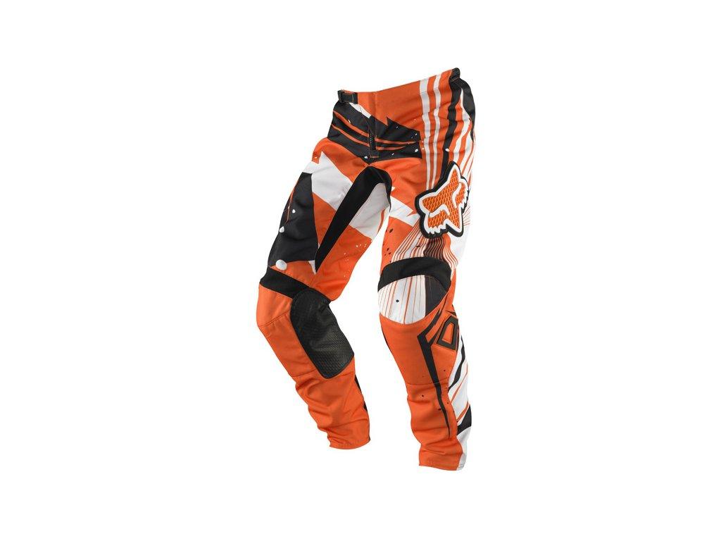 MX kalhoty FOX UNDERTOW ORANGE