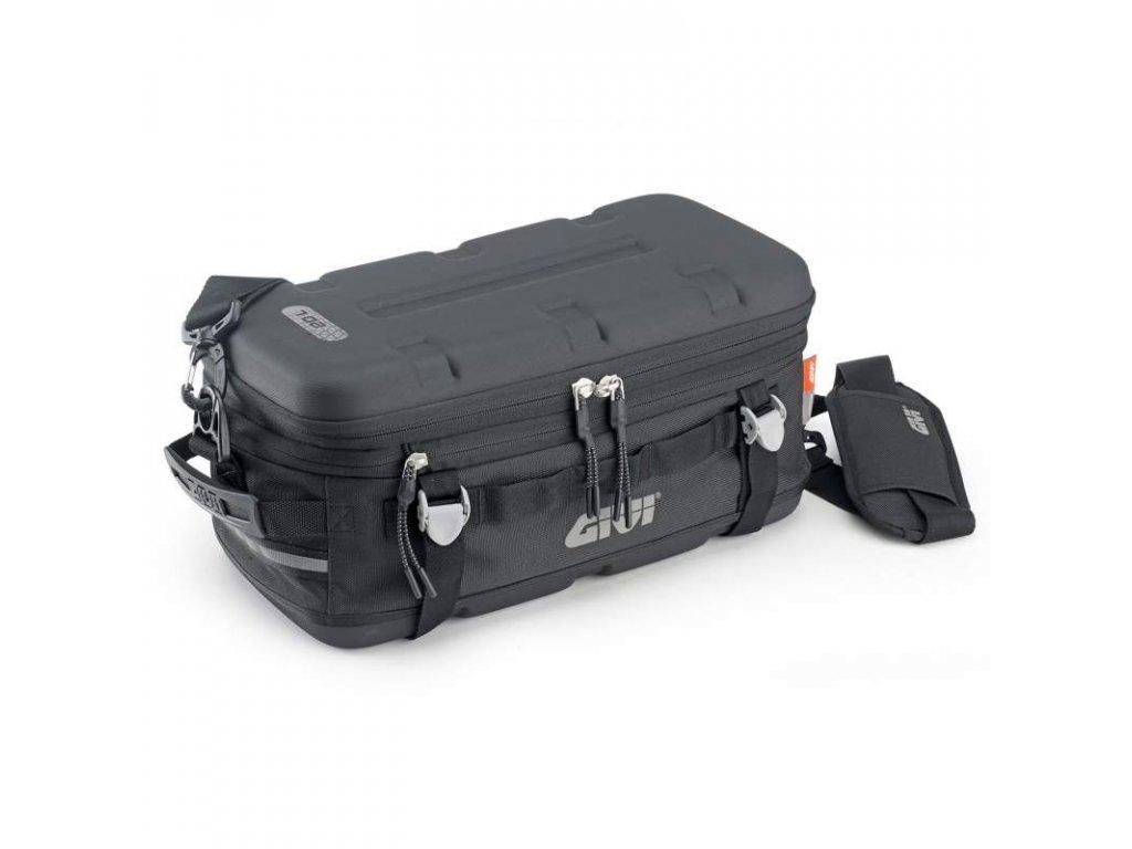 ut 807 vodotesna taska givi na sedlo spolujezdce nebo na kufr cerna objem 25 l upinaci popruhy