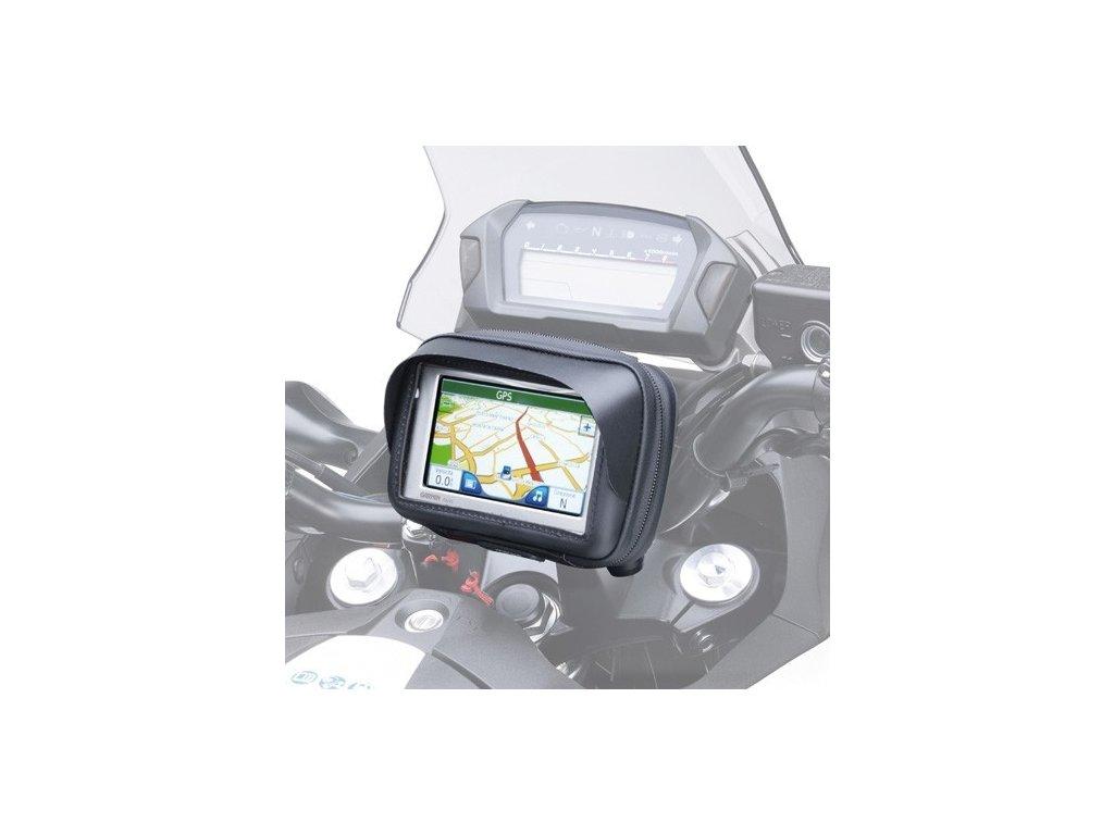 """pouzdro KAPPA KS952B na telefon/navigaci do 3,5"""" se systémem uchycení LOCK/OUT"""