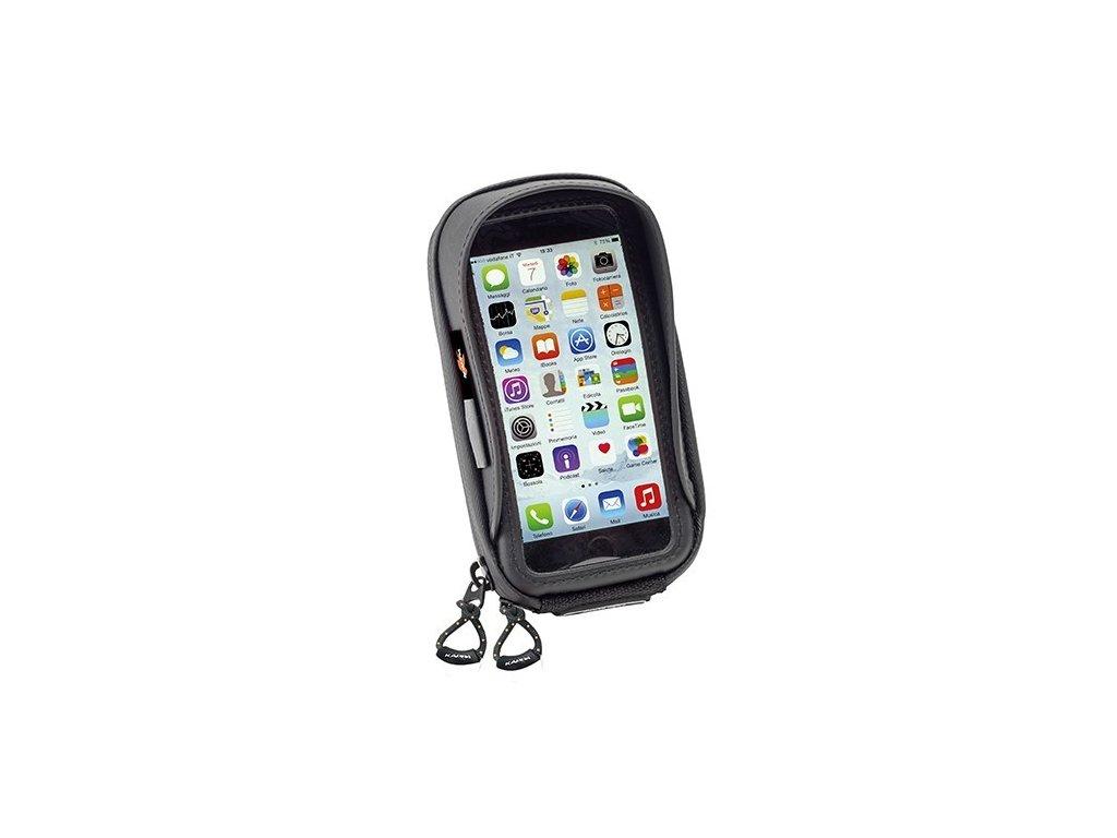 pouzdro KAPPA KS957B na více druhů smartphone se systémem uchycení LOCK/OUT