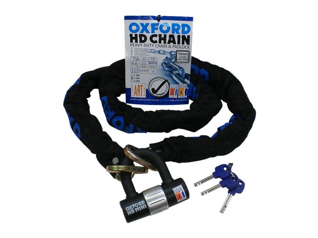 oxford hd chainand padlock