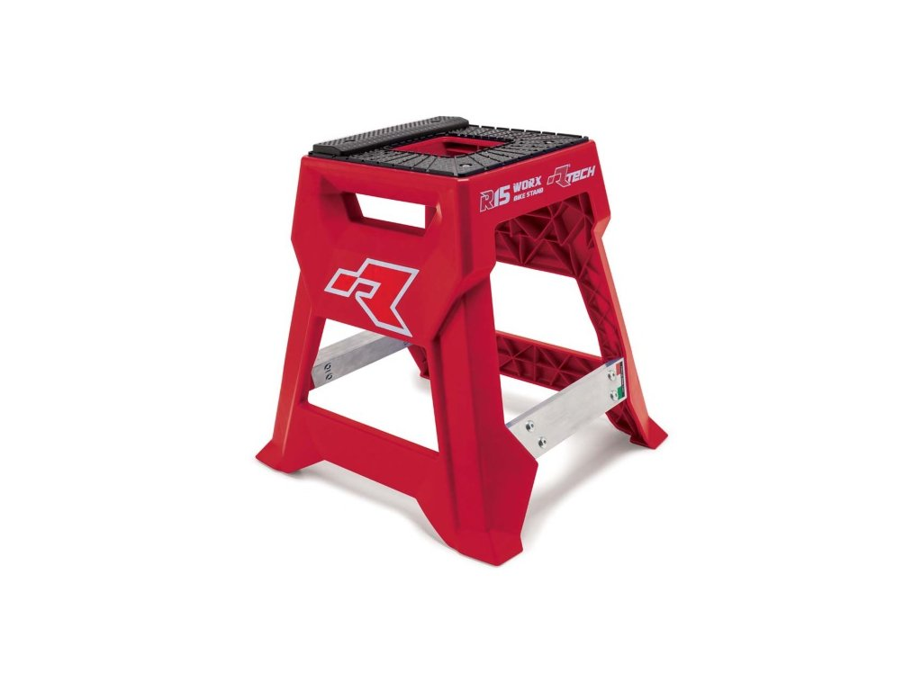 stojan mx r15 technopolymer hlinik rtech italie cervena cerna