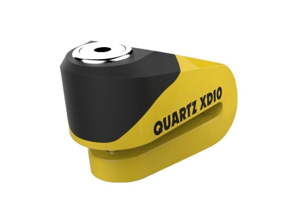 zámek OXFORD Quartz XD10, žlutý/černý