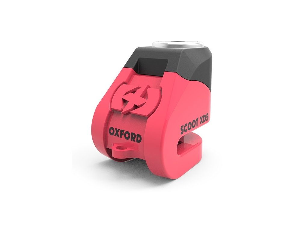 Oxford Scoot XD5 Scooter Disc Lock Pink
