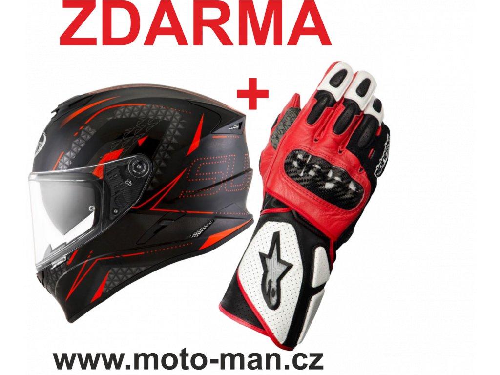 moto helma suomy stellar shade black red