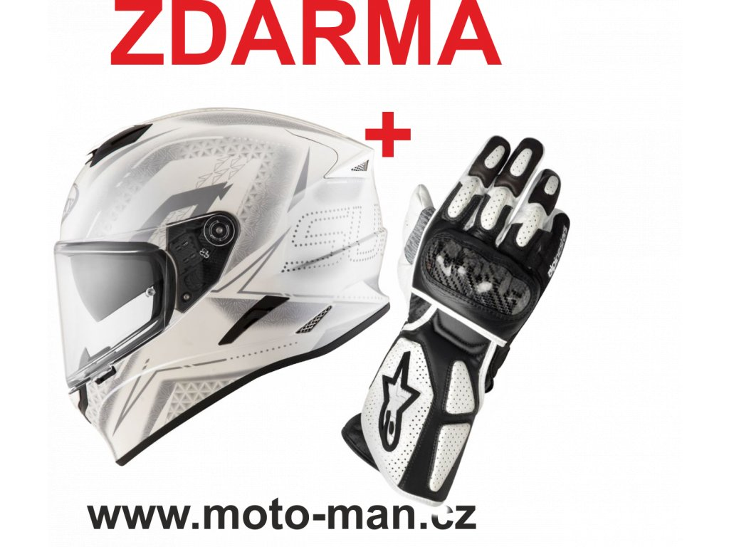 moto helma suomy stellar shade white grey