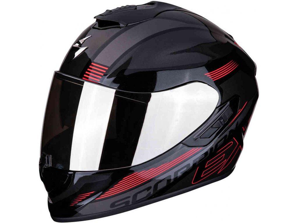 EXO 1400 AIR FREE Metal black Red ml