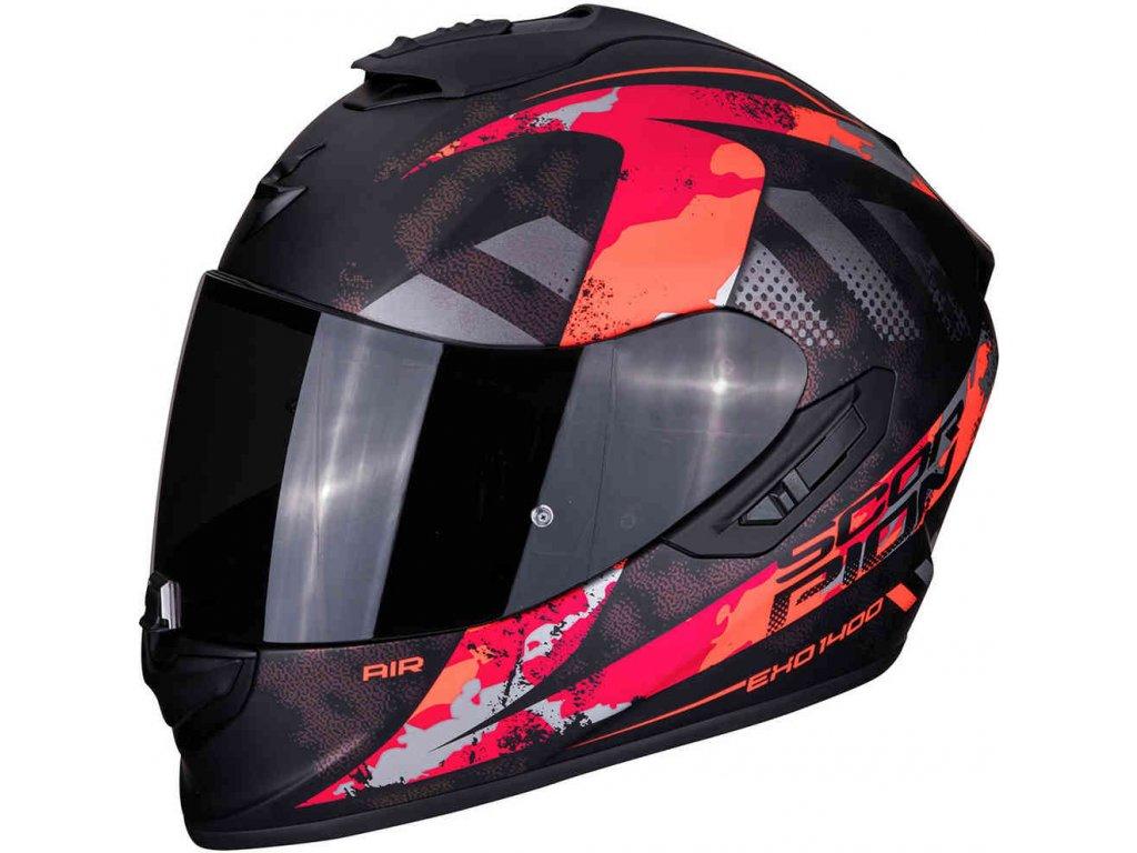 EXO 1400 AIR SYLEX Matt black Red ml