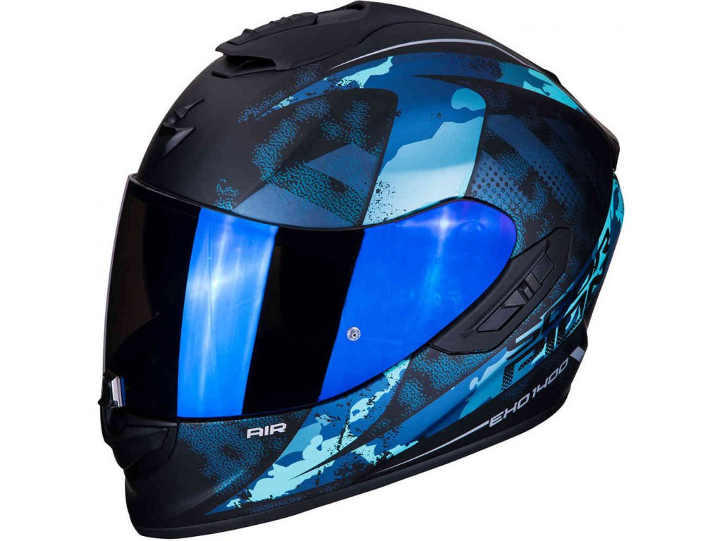 EXO 1400 AIR SYLEX Matt black Blue ml