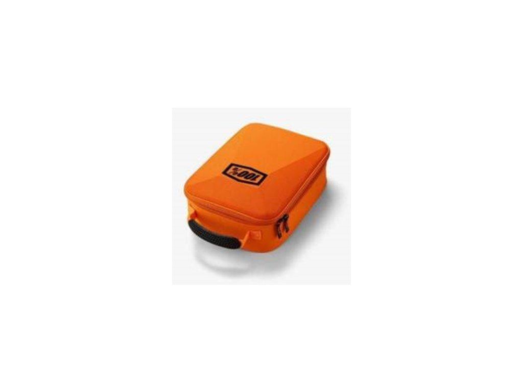 kufr na motokrosove bryle fluo 100 usa oranzova
